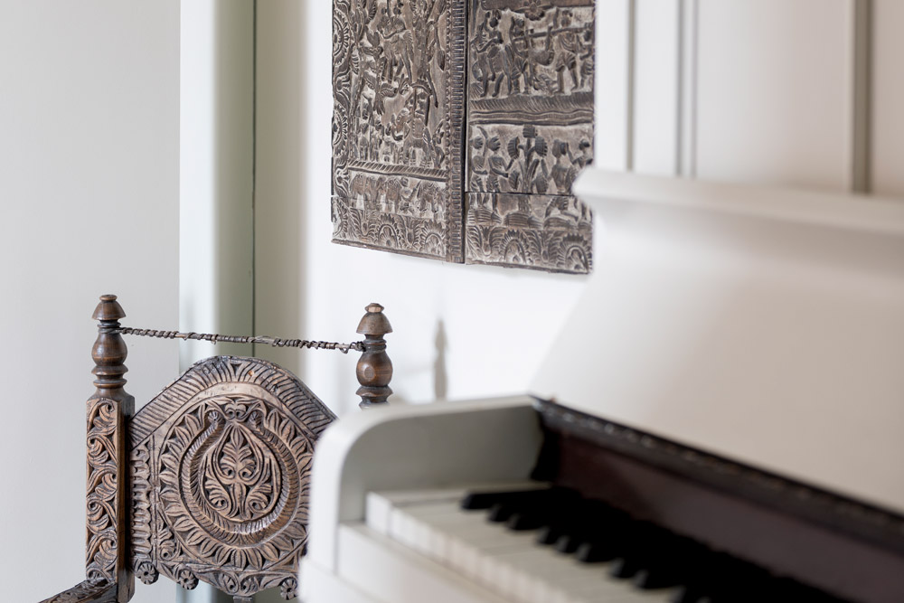 Piano and Indian Shutters
